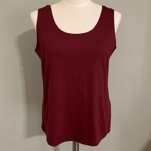 Chico's NWT Red Maple Tank Size Large